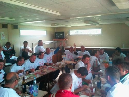 repas avant match